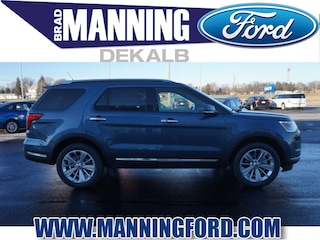 New 2019 Ford Explorer Limited SUV For Sale DeKalb IL
