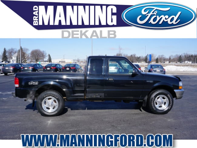 Used 2000 Ford Ranger XLT 126 WB Truck Super Cab For Sale DeKalb, IL