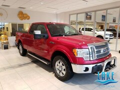 2012 Ford F-150 4WD Supercab 145 Lariat Truck Super Cab
