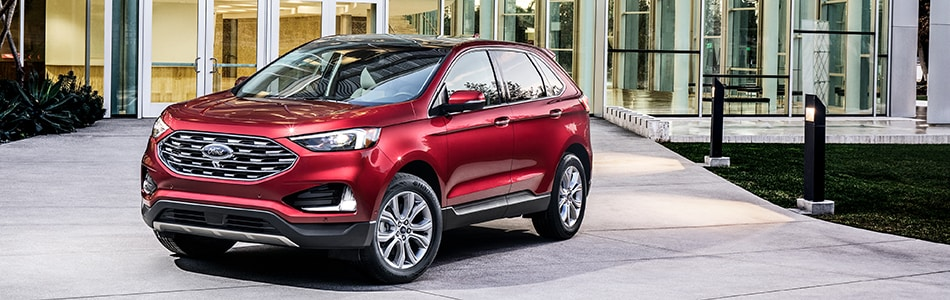 New Ford Edge downtown