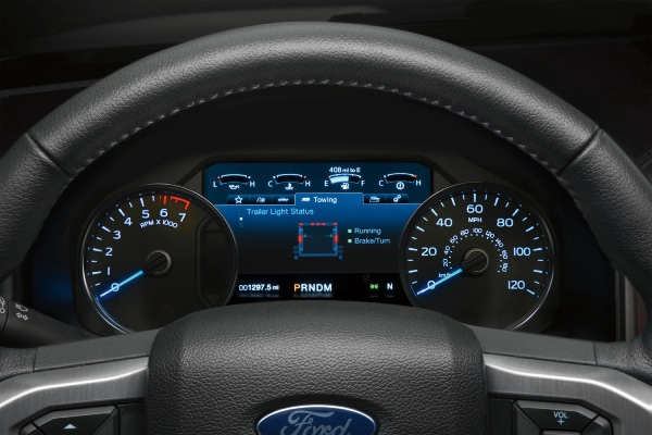 New Ford F-150 Interior steering