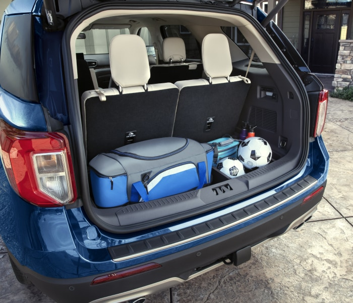 New Ford Explorer Storage
