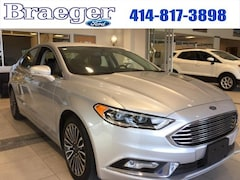 2017 Ford Fusion Titanium FWD Sedan