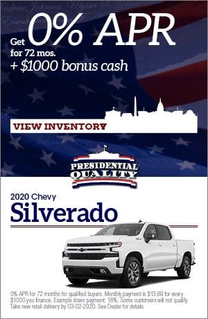 Feb 2020 Chevy Silverado