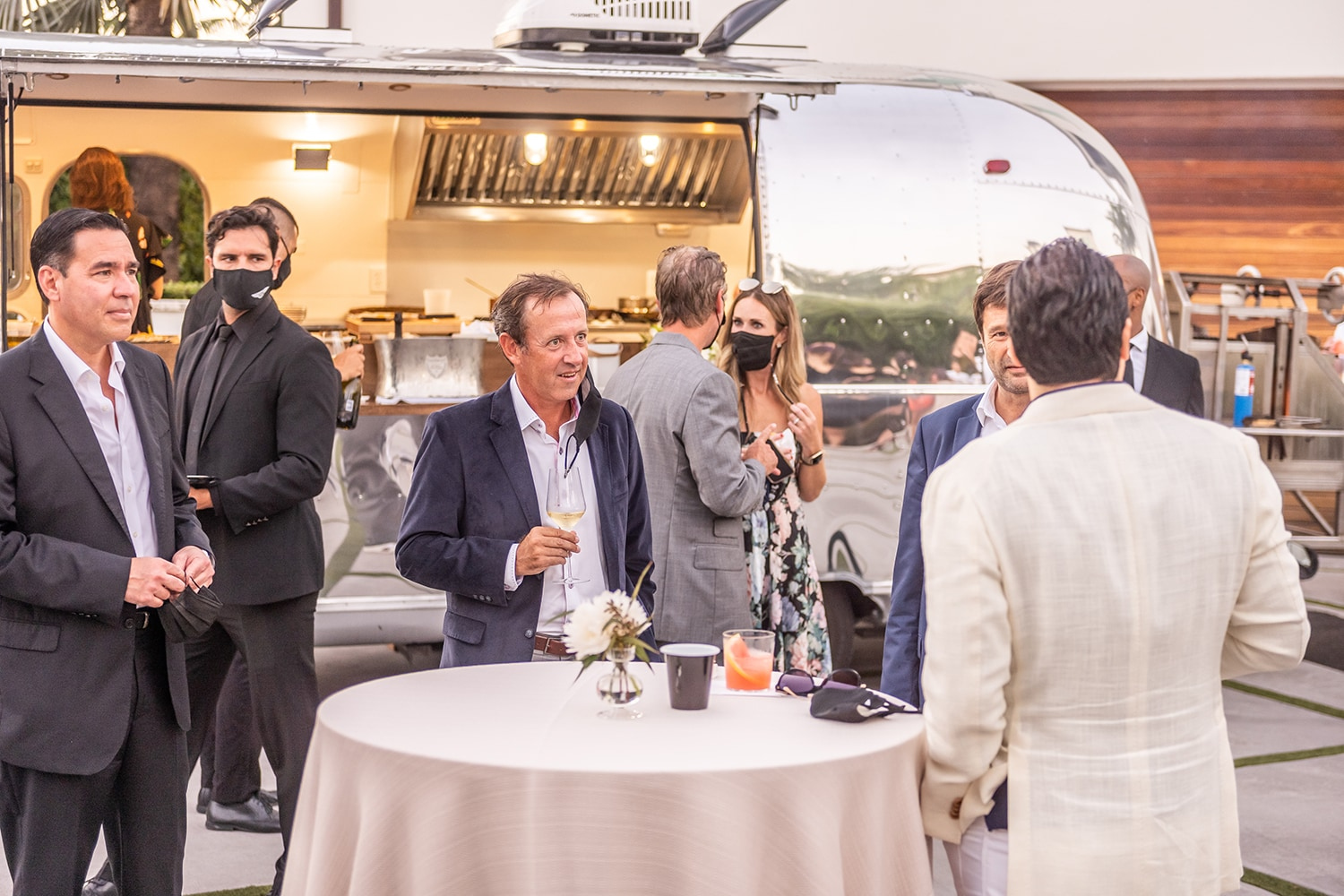 Bentley Airstream Dinner – February 2021