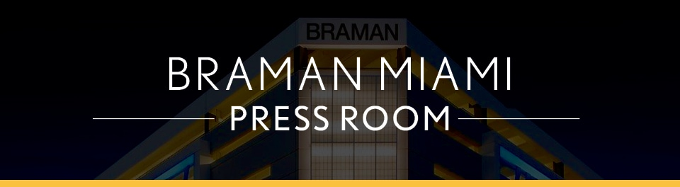 The braman miami press room