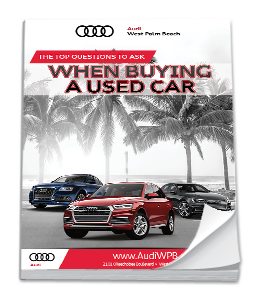Questions To Ask When Buying A Used Car Ebook Audi Dealer