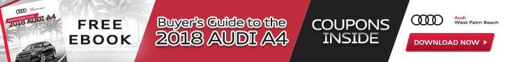 Audi A Maintenance Schedule Audi West Palm Beach FL - Audi a4 maintenance schedule