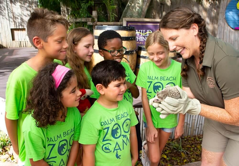 Class at Palm Beach Zoo