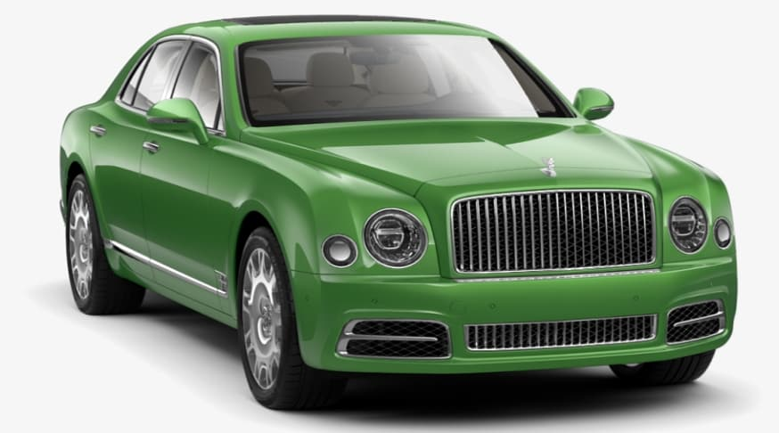 Apple Green Bentley