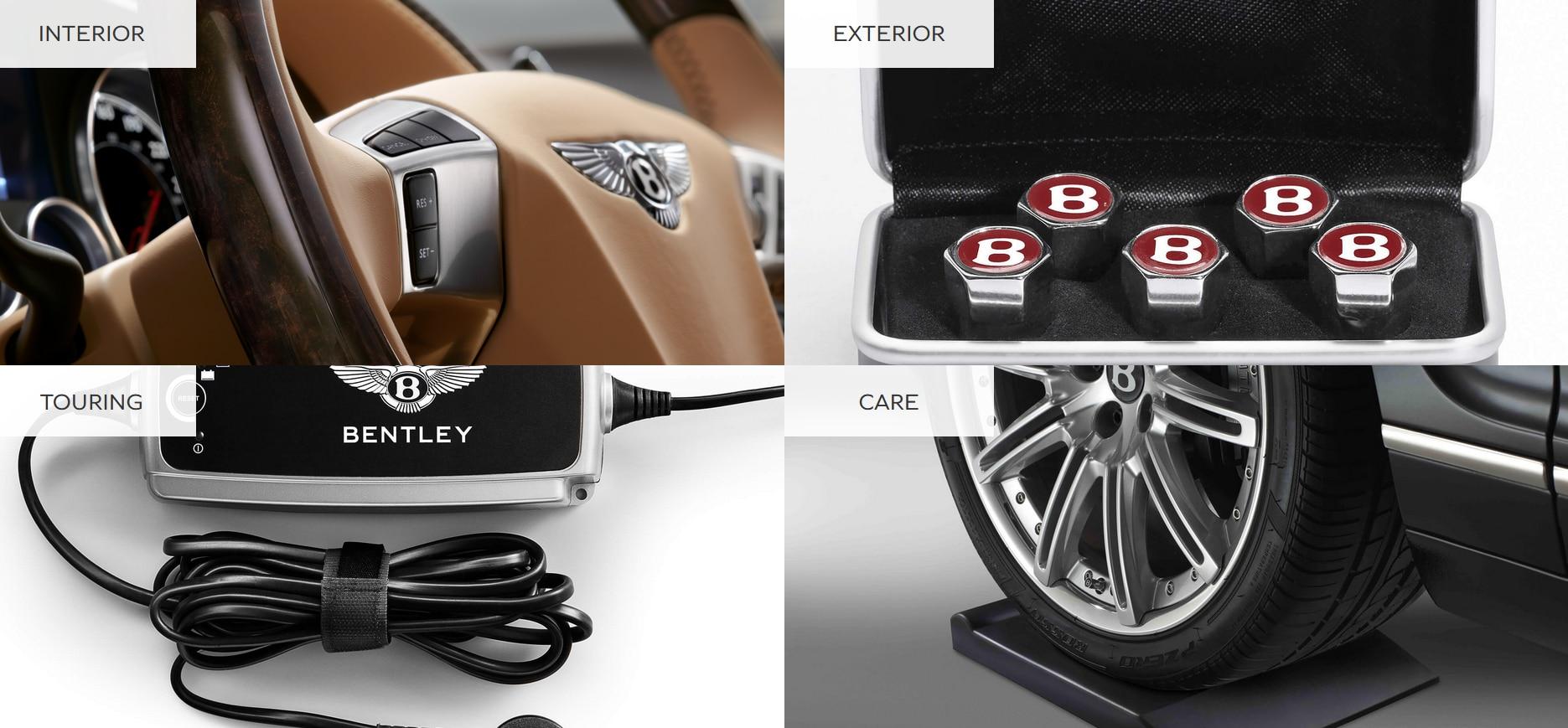 Accessories for Your Bentley