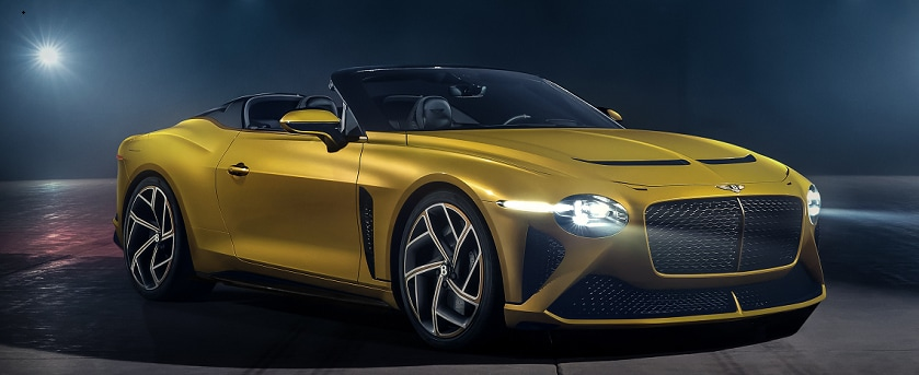 Yellow Flame Bentley