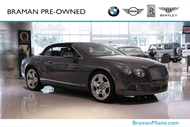 Used Bentley for Sale in Miami, FL | Pre-Owned Bentley Supercars