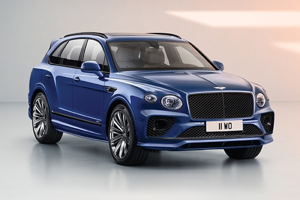 New NEW BENTAYGA SPEED Speed Interior Features & Technologies