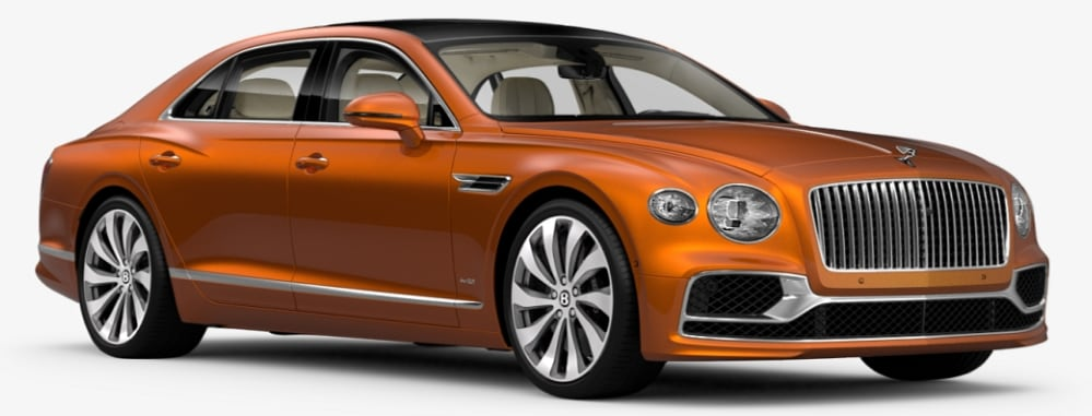 Orange Flame Bentley