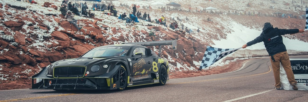 Bentley Continental GT3 Twin-Turbo at Pikes Peak