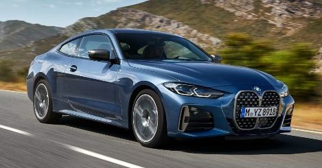 2021 BMW 4 Series Coup
