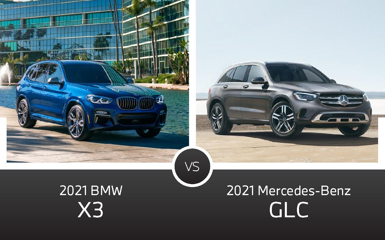 2021 BMW X3 vs 2021 Mercedes-Benz GLC