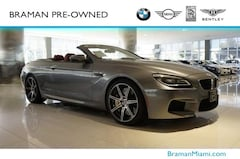 2018 BMW M6 Convertible in [Company City]