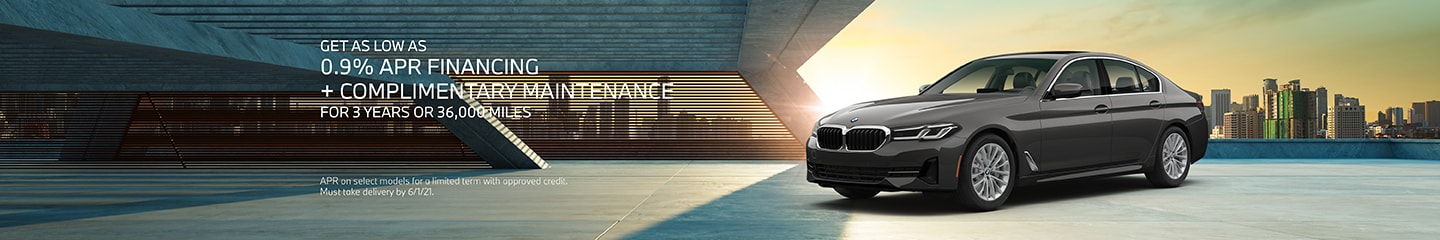 Get As Low As 0.9% APR Financing + Complimentary Maintenance