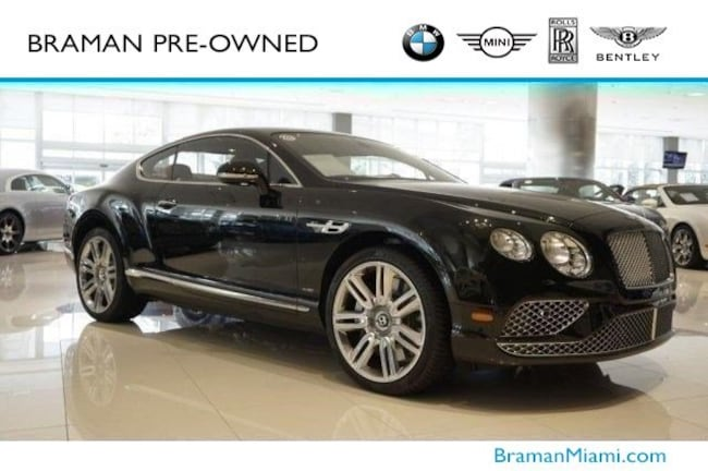 2017 Bentley Continental GT W12 Coupe