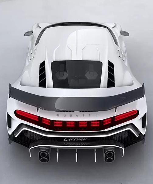 Bugatti Centodieci Spoiler