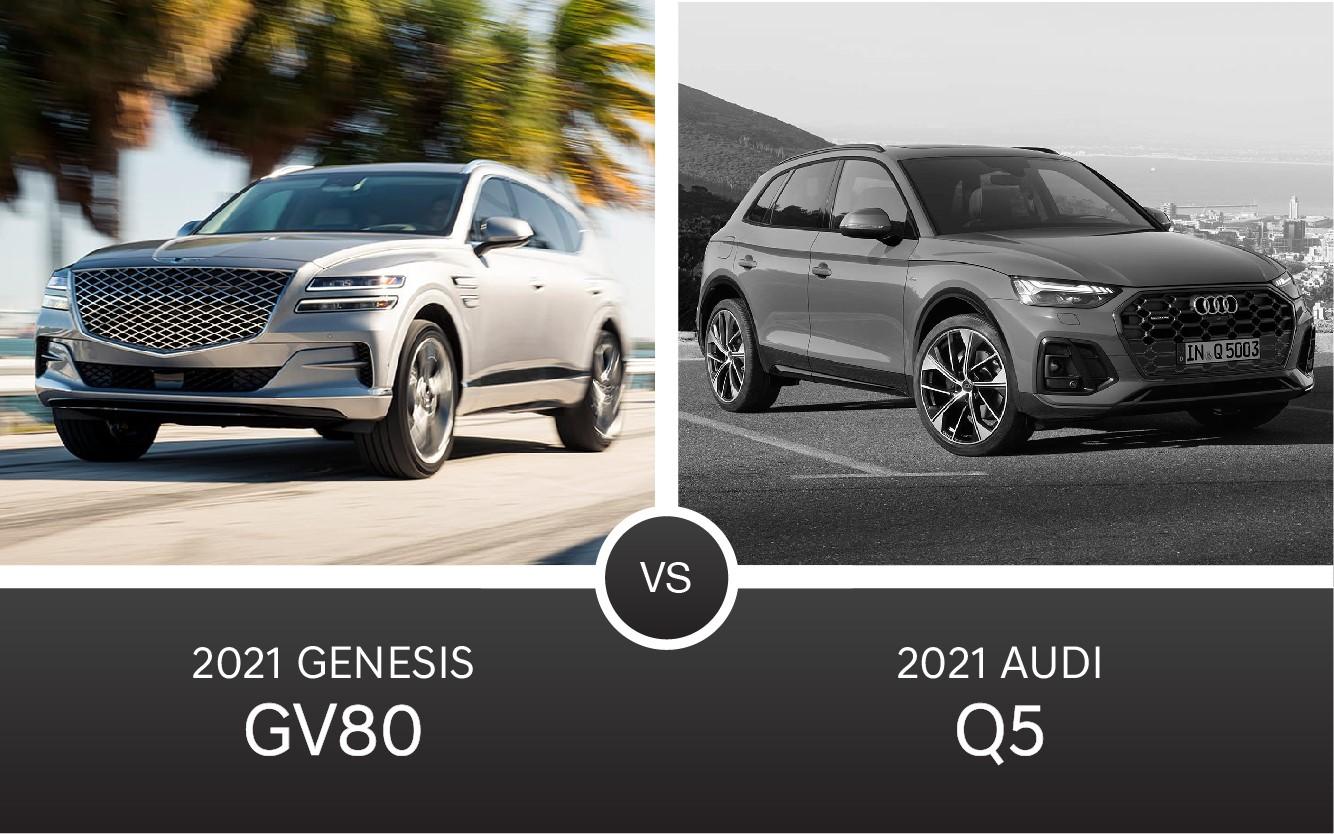 2021 Genesis GV80 Luxury SUV