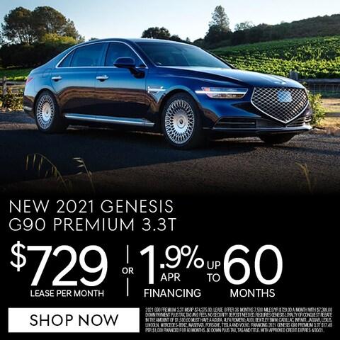New 2021 Genesis g90