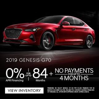2019 Genesis G70