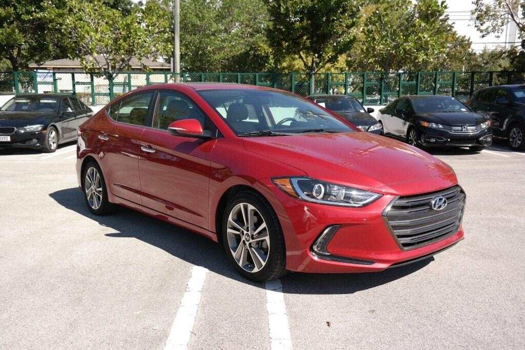 2017 Hyundai Elantra Limited Limited 2.0L Auto (Alabama) *Ltd Avail*