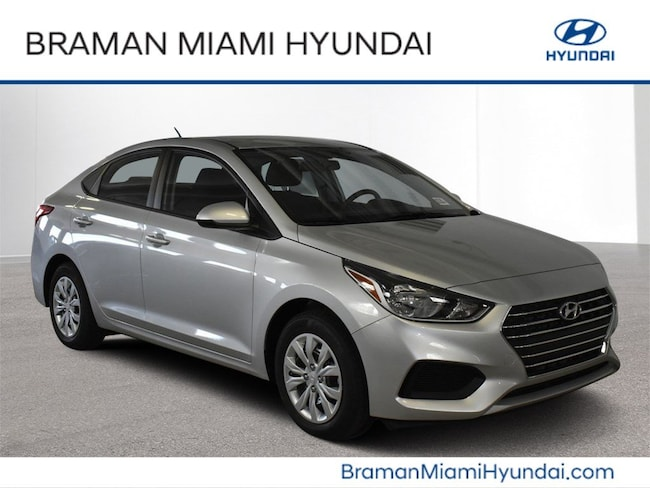 2019 Hyundai Accent SE Sedan