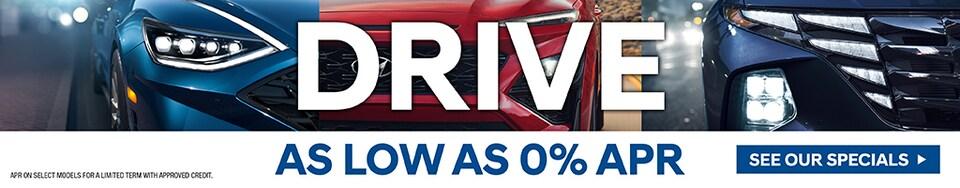 Drive - As Low As 0% APR