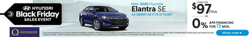 New 2020 Hyundai Elantra