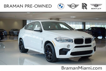 2018 BMW X6 M Sports Activity Coupe Coupe