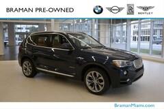 2017 BMW X3 sDrive28i sDrive28i Sports Activity Vehicle
