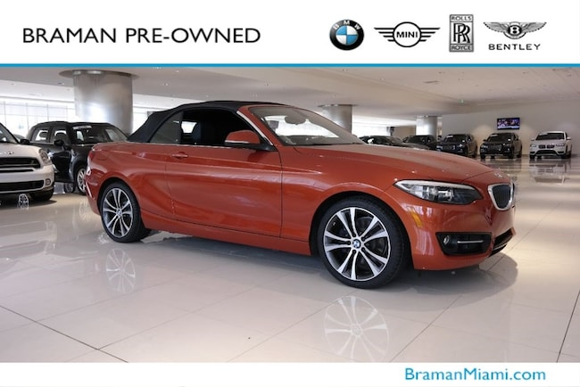 2016 BMW 2 Series 228i Convertible