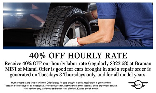 40% off labor rate