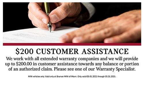 $200 Customer Assistance