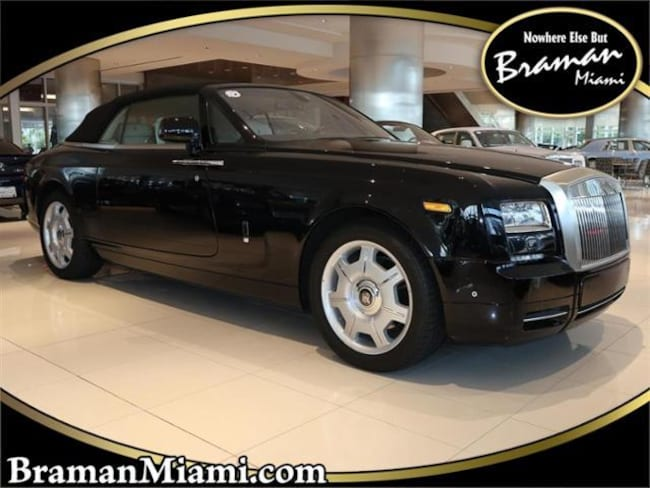 Used 2016 Rolls Royce Phantom Drophead Coupe For Sale At Braman Mini