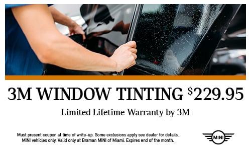 3M window tinting