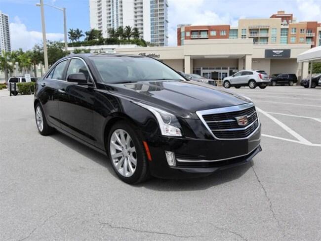 2018 Cadillac ATS Sedan Premium Luxury RWD Car