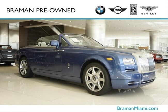 2016 Rolls-Royce Phantom Drophead Coupe Convertible