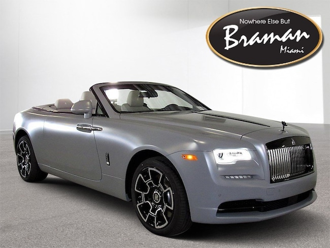 2019 Rolls-Royce Dawn BLACK BADGE EDITION