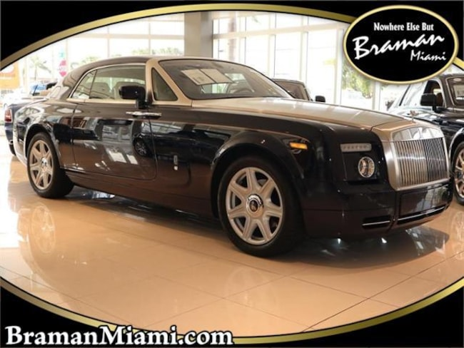 2009 Rolls-Royce Phantom Coupe Base Coupe