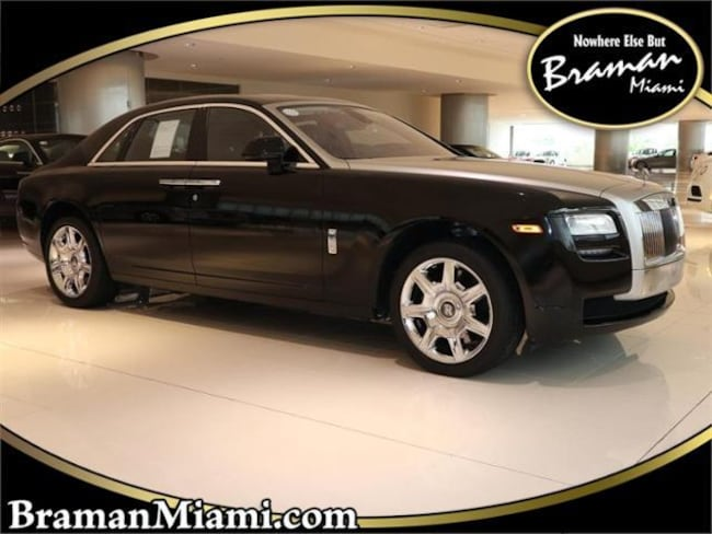 2012 Rolls-Royce Ghost Base Sedan