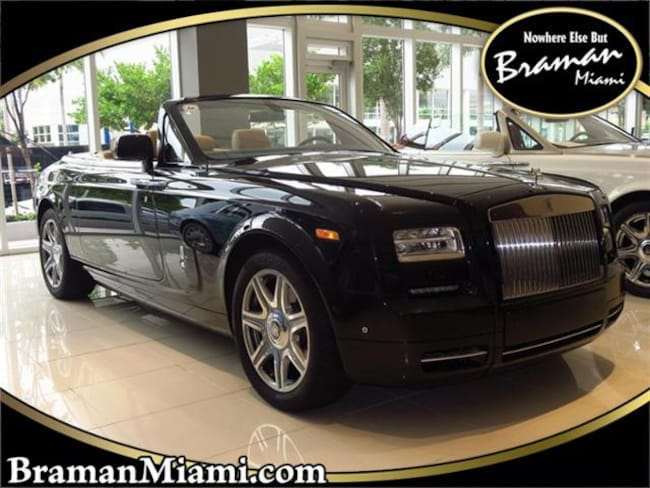 2015 Rolls-Royce Phantom Drophead Coupe Convertible