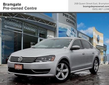 2015 Volkswagen Passat Comfortline 1.8T 5sp Sedan