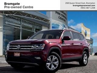 2018 Volkswagen Atlas Comfortline 2.0T 8sp at w/Tip SUV