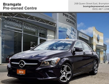 2014 Mercedes-Benz CLA 4matic Coupe Coupe