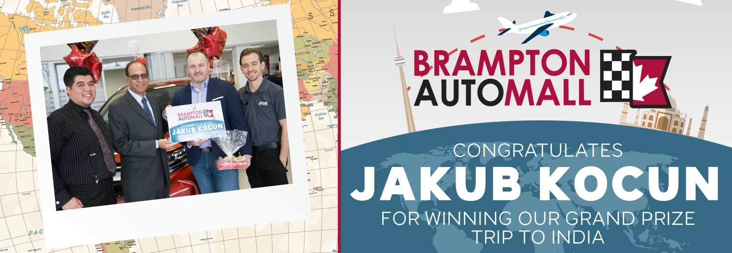 Brampton Auto Mall Winner